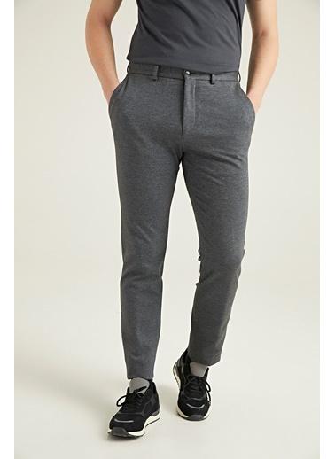 TWN Slim Fit Jogger Kumaş Pantolon Gri